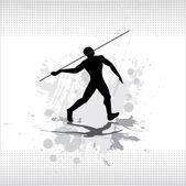 Thrower spears. Vector. — Stock Vector