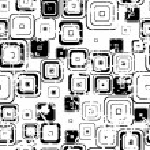 Mosaic seamless wallpaper. — Stock Vector