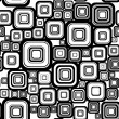 Seamless retro background from squares. — Stockvectorbeeld
