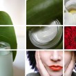 Cosmetic and beauty - Stock Photo