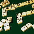 Dominoes the game. — Stock Photo