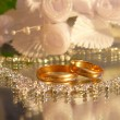 Wedding a ring — Stock Photo #1311061