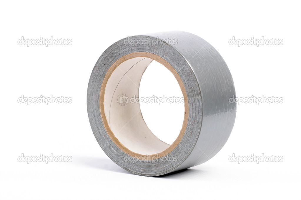 Adhesive tape grey — Stock Photo #1311121