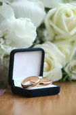 Wedding a ring — Stock Photo