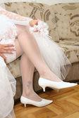 Bridal garter — Stock Photo