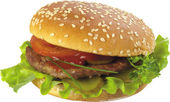 Hamburger — Stock Photo