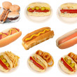 The unhealthy food — Stock Photo