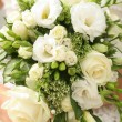 Bouquet a rose the white — Stock Photo