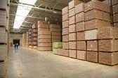 Tree warehouse — Stock Photo