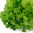 Stock Photo: Fresh salad on white background