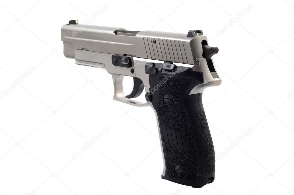 gun white background - photo #35