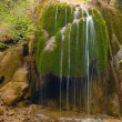 Waterfall in the mountain in spring — Stock Photo