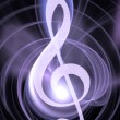 Music abstract background. — Stock Photo