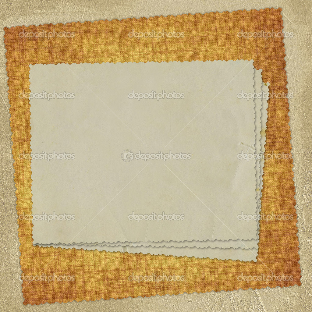 Vintage card from old paper on the abstract background — Stock Photo #1406829