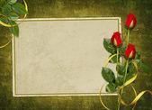 винтажная открытка к празднику — Стоковое фото