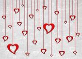 Cartão de dia dos namorados — Foto Stock