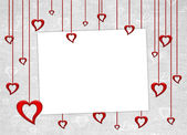 Valentines day card — Foto Stock