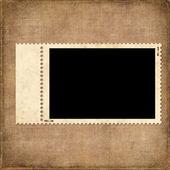 Cartão vintage de papel velho — Foto Stock