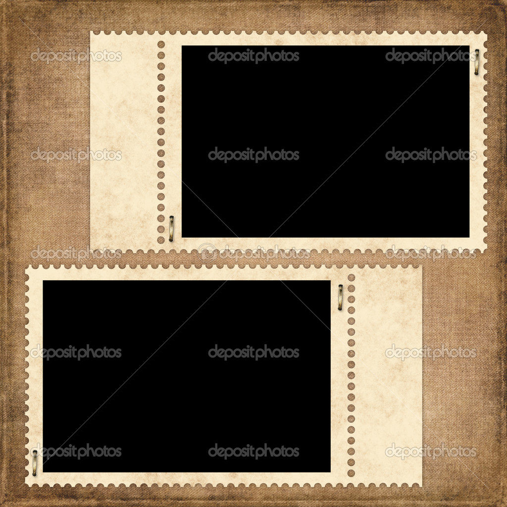 Vintage card from old paper on the abstract background — Stock Photo #2049199