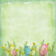 Royalty-Free Stock Photo: Easter ard for the holiday with egg