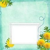 Cartão para convite ou parabéns — Foto Stock