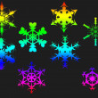 Royalty-Free Stock Photo: Snowflakes