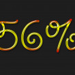 Autumn percentage symbol — Stock Photo #1363201