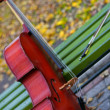 Music of autumn - Stock Photo