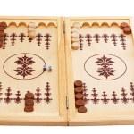 Backgammon board — Stock Photo