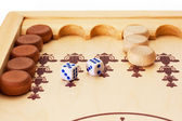 Backgammon — Stock Photo