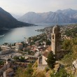 The Boko Kotor bay. Adriatic Sea. Monten — Stock Photo