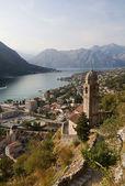 The Boko Kotor bay. Adriatic Sea. Monten — Stock Photo
