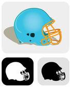 Helmet_modern — Stock Vector