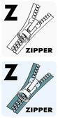Alphabet_Z — Stock Vector