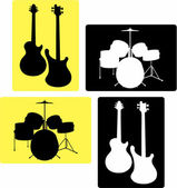 Music-instruments_i — 图库矢量图片