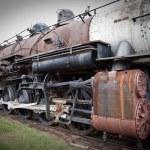 Старый паровоз — Стоковое фото