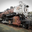Old Steam Train — 图库照片