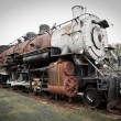 Old Steam Train — Foto de Stock