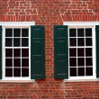 Colonial Windows — Stock Photo #1385605