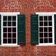 Colonial Windows — Stock Photo