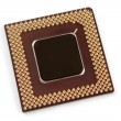 CPU Chip - Stock Photo
