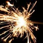 Burning Sparkler — Stock Photo #1387740