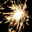 Burning Sparkler - Stock Photo