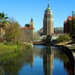 San Antonio Reflection - Stock Photo