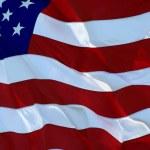 bandera americana — Foto de Stock   #1388358