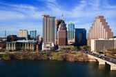 Austin texas centrum — Stockfoto