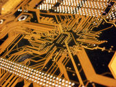 Computer Mainboard — Stock Photo