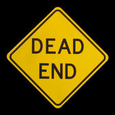 Dead End Sign — Stock Photo