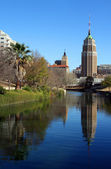 San Antonio Reflection — Stock Photo