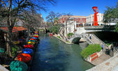 San Antonio Riverwalk — Fotografia Stock
